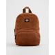 DICKIES Corduroy Cognac Mini Backpack