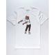 RIOT SOCIETY Flossin White Mens T-Shirt