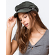 DAVID AND YOUNG Corduroy Olive Womens Fiddler Cap