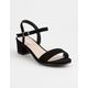 SODA Ankle Strap Girls Heeled Sandals