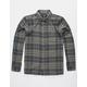 HURLEY Kurt Gray Combo Mens Flannel Shirt