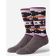 STANCE Lyonz Black Mens Crew Socks