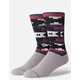 STANCE Lyonz Multicolored Mens Crew Socks