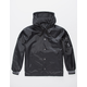 MEMBERS ONLY Flight Black Mens Coach Jacket