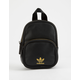 ADIDAS Originals Faux Leather Black Mini Backpack