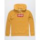 LEVI'S Logo Mustard Mens Hoodie