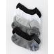 FULL TILT 6 Pack Basic Space Dye Womens No Show Socks