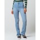 SKY AND SPARROW Clean High Waisted Womens Flare Jeans
