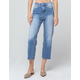 IVY & MAIN High Waisted Womens Straight Leg Jeans