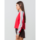 DESTINED 3 Stripes Red Womens Crop Sweatshirt
