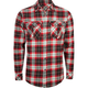 SUBCULTURE Elms Mens Flannel Shirt