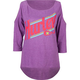 HURLEY Fresh College Womens Cold Shoulder Raglan Tee