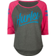 HURLEY Marker Fresh Womens Baseball Tee
