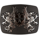 Double Griffin Belt Buckle