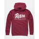 YOUNG & RECKLESS Speed Lines Mens Hoodie
