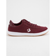 CONVERSE Barcelona Pro Low Top Burgundy & White Shoes