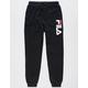 FILA Classic Logo Black Boys Jogger Pants