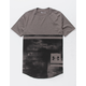UNDER ARMOUR Sportstyle Printed Black Combo Mens T-Shirt