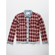 UNCLE RALPH Plaid Trucker Mens Jacket