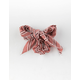FULL TILT Striped Scarf Mauve Scrunchie