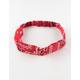 FULL TILT Red Bandana Headband