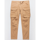 UNCLE RALPH Twill Cargo Khaki Mens Jogger Pants