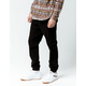 CYA Side Stripe Black Mens Joggers Pants