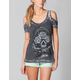 SULLEN Cory Norris Womens Cold Shoulder Tee