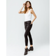 RSQ High Rise Ankle Wash Black Womens Skinny Jeans
