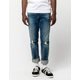 RSQ London Tinted Denim Mens Ripped Skinny Jeans