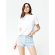 RSQ Sunset High Rise Stripe Womens Denim Shorts