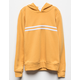 FULL TILT Chest Stripe Mustard Girls Hoodie