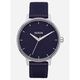 NIXON Kensington Leather Aubergine Watch