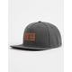 ELEMENT Leather Banner Mens Snapback Hat