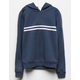 FULL TILT Chest Stripe Blue Combo Girls Hoodie