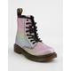 DR. MARTENS Rainbow Glitter Pascal Girls Boots