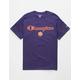 CHAMPION Clemson University Purple Mens T-Shirt