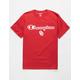 CHAMPION University Of Oklahoma Cardinal Mens T-Shirt