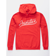 PRIMITIVE Murray Script Red Mens Hoodie