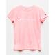 CHAMPION Heritage Pink Girls Tee