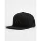 RVCA VA II Black Mens Snapback Hat