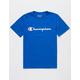 CHAMPION Heritage Blue Boys T-Shirt