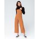 GYPSIES & MOONDUST Stripe Buckle Womens Jumpsuit