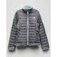 THE NORTH FACE Reversible Mossbud Swirl TNF Medium Gray Heather Girls Jacket