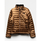 THE NORTH FACE Reversible Mossbud Swirl Metallic Copper Girls Jacket