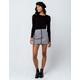 VOLCOM Frochickie Black Skirt