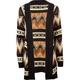 FULL TILT Tribal Stripe Womens Sweater