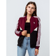 ADIDAS CLRDO SST Maroon Womens Track Jacket
