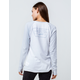 VANS Full Patch White & Gray Womens Raglan Tee