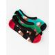 VANS 3 Pack Sugarplum Womens Canoodle Socks